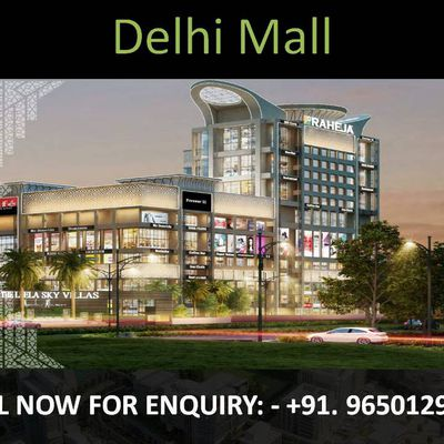 Delhi Mall- New Launch Commercial Property in Delhi || 9650129697
