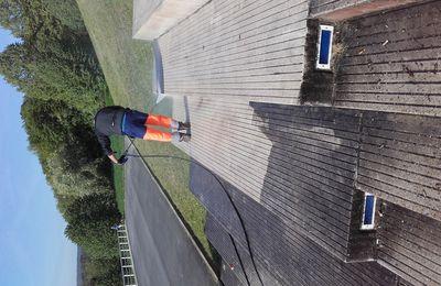 Nettoyage des Escaliers de l'Axe majeur