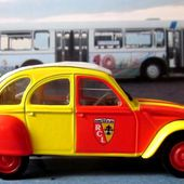 FASCICULE N°118 CITROEN 2CV 6 SANG ET OR RACING CLUB DE LENS NOREV 1/43. - car-collector.net