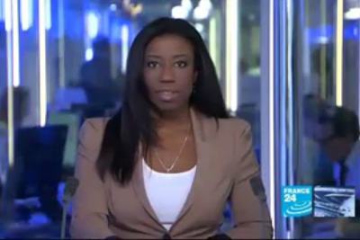 2012 02 01 @19H00 - GEORJA CALVIN-SMITH, FRANCE 24, THE NEWS