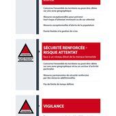Consignes de sécurité applicables dans les établissements relevant du ministère de l'Éducation nationale et de l'Enseignement supérieur et de la Recherche