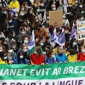 Guingamp - Langues régionales : 10 000 manifestants à Guingamp selon les organisateurs, 6 000 selon la préfecture