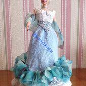 tuto gratuit barbie: robe princesse Victoria- suite- - Chez Laramicelle