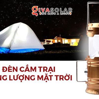 Cách chọn mua đèn lồng cắm trại năng lượng mặt trời