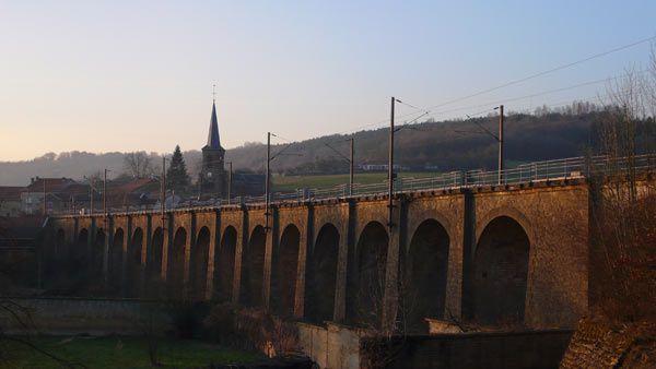 La citadelle de Montmédy et ses alentours