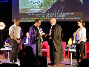 Stephen Murray, Docteur Honoris Causa de l'Université de Picardie Jules Verne