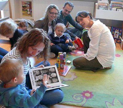 les journaux aussi invitent les bébés à venir lire