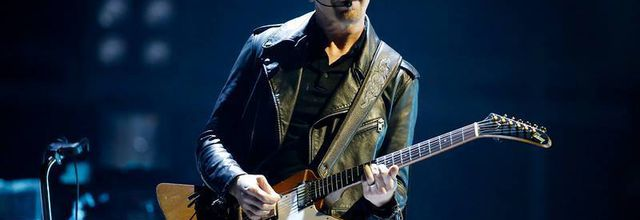 U2 -The Edge -San José ,Californie -19-05-2015