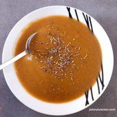... la soupe SOS: mon frigo est vide! - J'ai voulu tester...