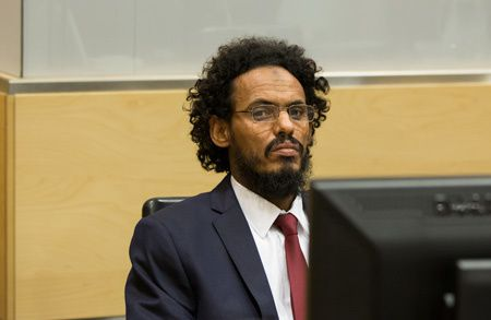 Ahmad Al Mahdi Al Faqi, maliense acusado de crímenes de guerra.- El Muni.