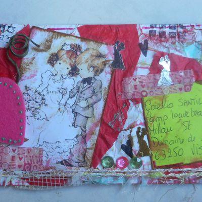 Mail Art Mariage 2