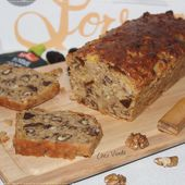 Cake noix et pruneaux aux flocons d'avoine - Chez Vanda