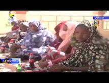 L'ONG AHA forme les femmes du Wadi-Fira à la teinture.