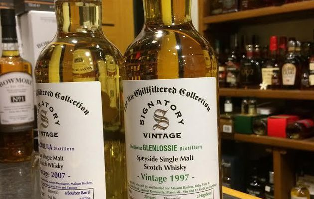 Glenlossie 1997 / 2017 Signatory Vintage