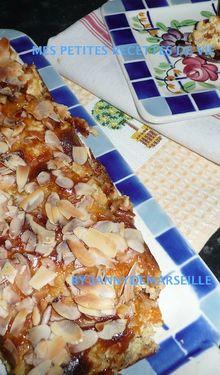 Clafoutis miel-abricots-amandes
