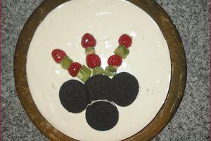 Cheesecake à l'Oréo