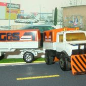 CAMION MERCEDES UNIMOG AVEC SA REMORQUE MATCHBOX 1/76 - car-collector.net