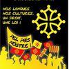 Manif per la dignitat de l'occitan en França