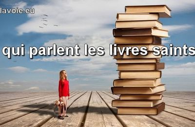 Le secret des livres saints