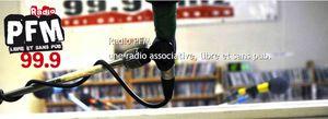 Radio PFM- variation en noir n° 12