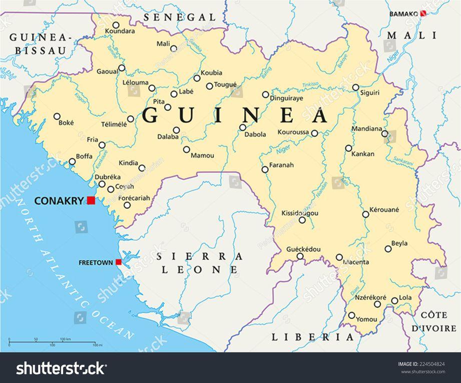 Imágenes de Guinea Conakri.- El Muni.