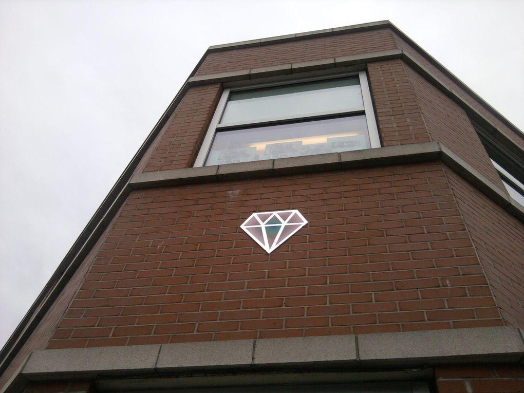 La Galerie Station 16 mettait à l'honneur le Diamantaire en août 2014.