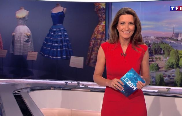 📸26 ANNE-CLAIRE COUDRAY @ACCoudray @TF1 @TF1LeJT pour LE 20H WEEK-END #vuesalatele