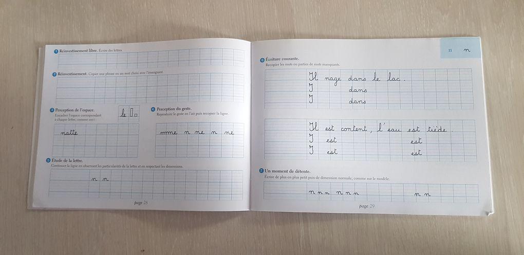 Progression préparation à l'écriture en maternelle
