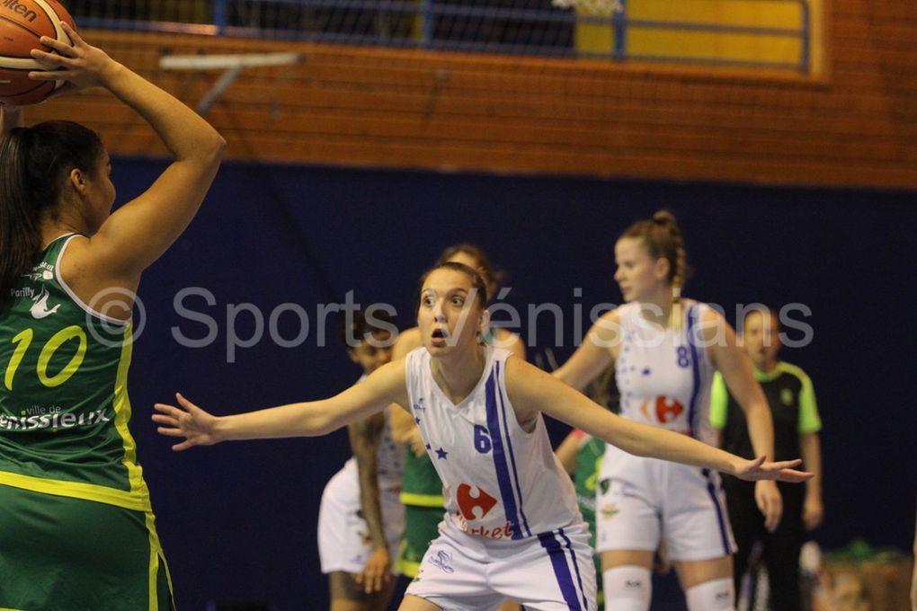 Cinquième victoire sur 9 rencontres jouées pour les Vénissianes
