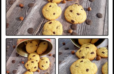 Cookies au chocolat de Christophe Michalak