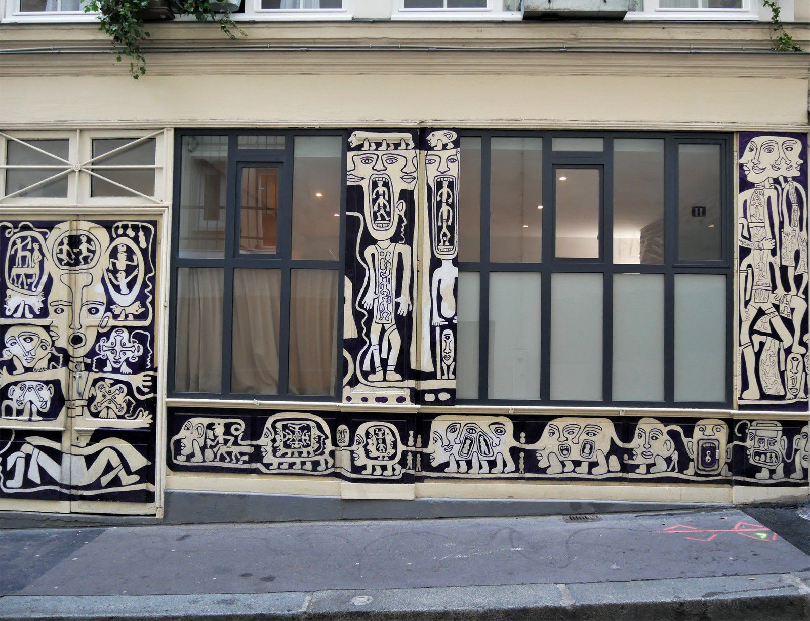 Rue de l'agent Bailly Paris 9ème.
