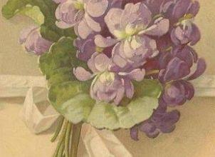 Le devoir du lundi du Goût : Violette
