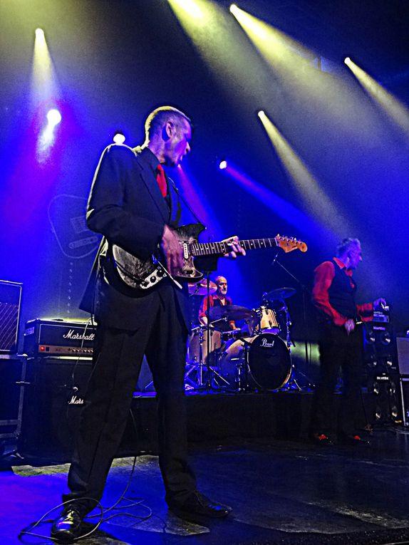 Nuit pub rock organisée par les associations Roxette Blois et Lucky 7 avec  Oil City band, Chillidogs, Sharpers, Shaggy Dogs