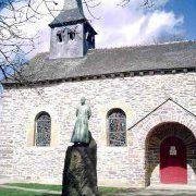 L'église du Graal à Tréhorenteuc
