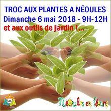 Local Var : Néoules - Dim 6 mai 2018 : 20e troc aux plantes et aux outils de jardin