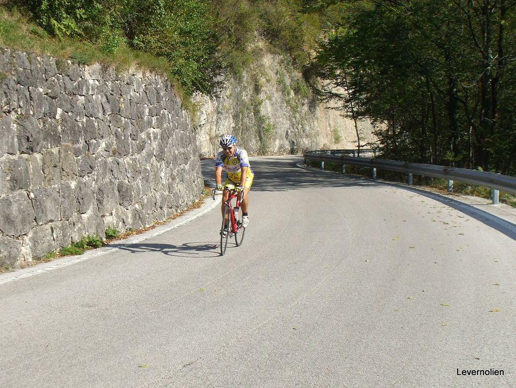 Cyclotourisme à Césuna