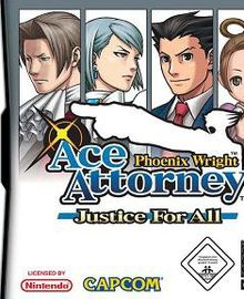 Phoenix Wright : Ace Attorney : Justice for All [TEST]