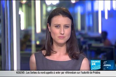 2012 02 14 @23H00 - AUDE LECHRIST, FRANCE 24, PARIS DIRECT