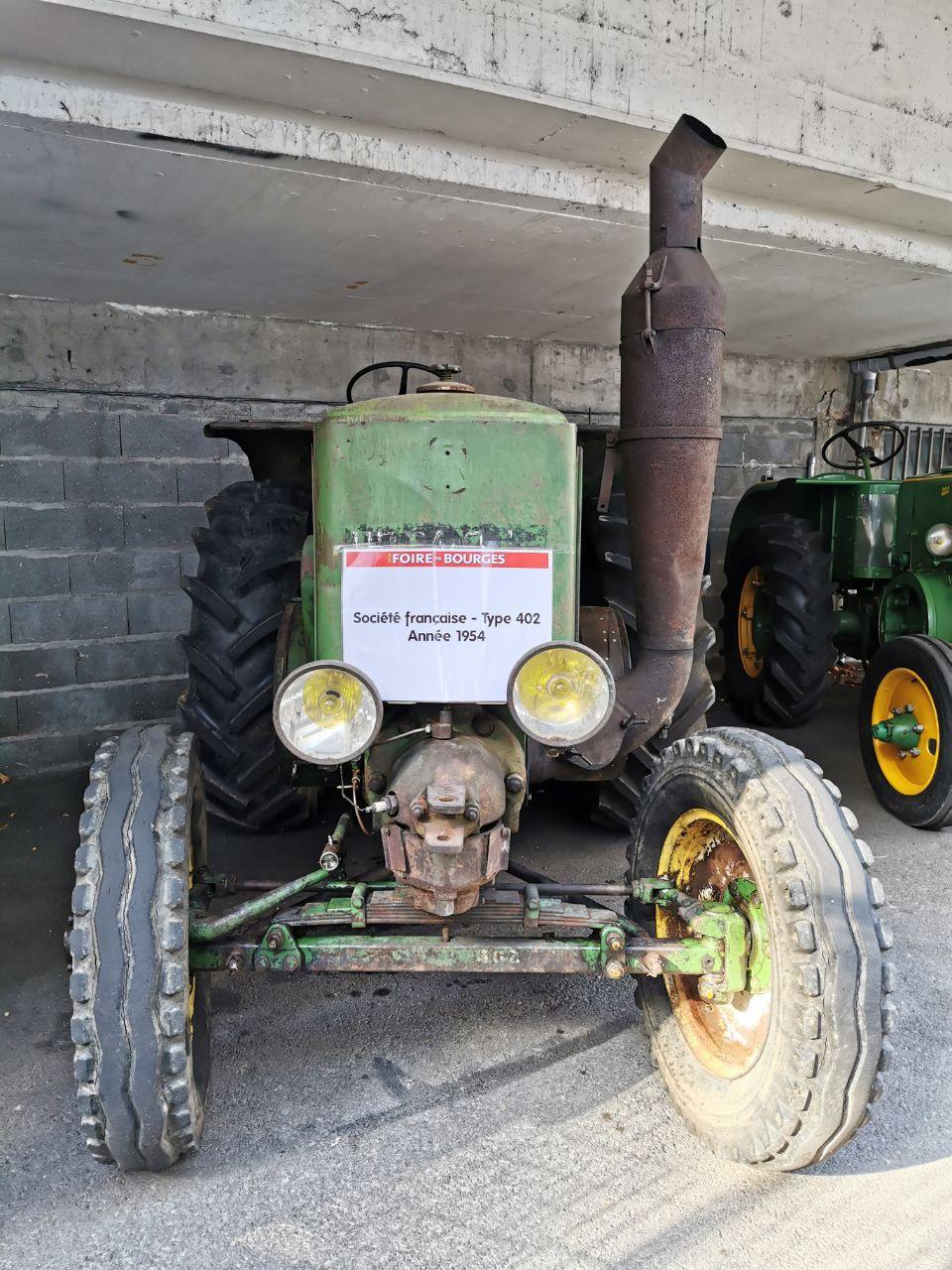 Il y a plus de tracteurs à la foire de Bourges qu'on en croise à Vierzon !
