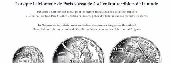 Le Languedoc-Roussillon vu par la Monnaie de Paris et Jean-Paul Gaultier !