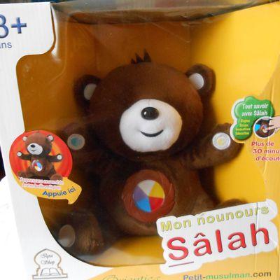 Mon nounours Salah sans les yeux : C'est si facile et amusant d'apprendre sa religion !