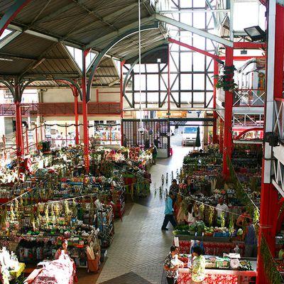 Le marché de Papeete, mille couleurs et mille odeurs...