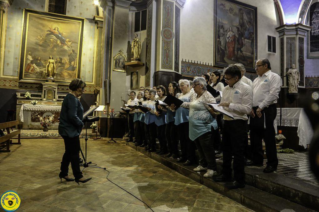 St André  les Alpes ; concert pour le Téléthon des fous des Lyres  audio et Vidéo