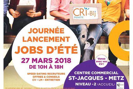 Metz Cap sur les emplois saisonniers le 27 mars 2018