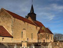 L'église de St-André-en-Morvan