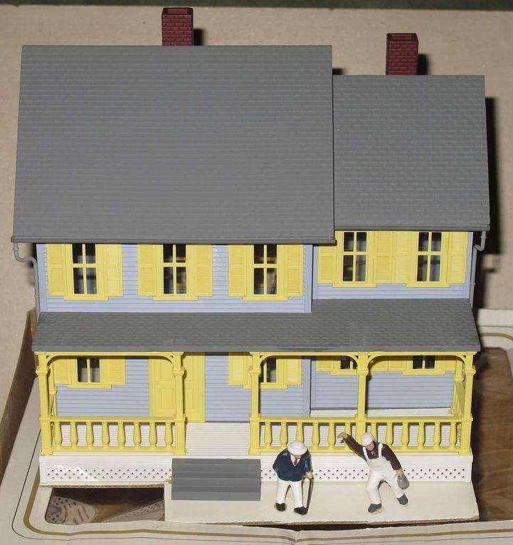 Maison assemblée Jordan's House échelle O Model Power