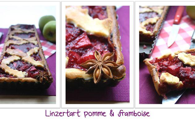 Recette n° 118 : Linzertart pomme & framboise
