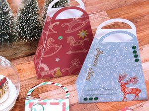 Sac - Sacoche - Cadeaux - Etiquettes - Vin - Bouteille - Original - 2020 - Noel - Christmas - Scan N Cut - SDX1200 - CM - Facile - Strass - Stickers - Rapide - Dernière minute