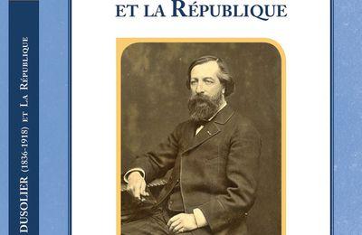 """""""Alcide Dusolier et la République"""" bientôt publié chez notre ami l'éditeur Jacky Tronel"""