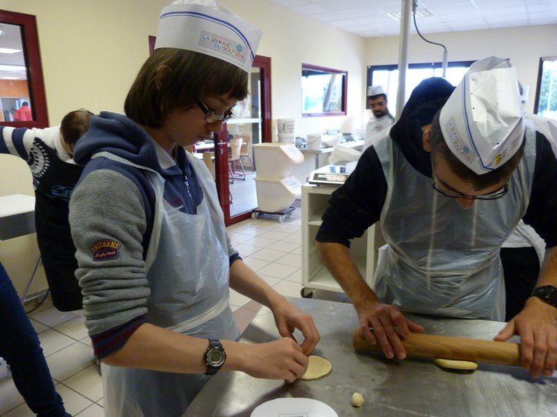 Visite à L'Ecole Française de Boulangerie et Pâtisserie d'Aurillac